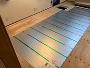 床暖房 配線